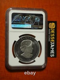 2019 $5 Modified Proof Silver Maple Leaf Ngc Pf70 Er From Pride Of Nations Set