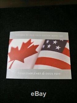 2019 Fierté Des Deux Nations Du Canada Ensemble De Chicago Ana Presse Signée À La Main Pf 70