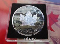 2019 Normandie Canadian Incuse Maple Leaf D-day Series Two Coin Set