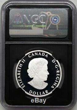 2020 $ 1 Argent Canada Peace Dollar Ultra High Relief Ngc Pf70 Uc Premières Versions