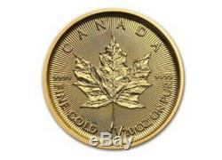 2020 Canada 1/20 Oz Or Maple Leaf Mint Emb. Bu