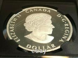 2020 Canada $ 1 Oz 1 Argent Dollar Paix, Uhr, Numéro Premier Jour, Ngc, Pf70 U Cameo