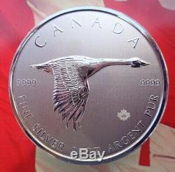 2020 Goose Canada 10 $ D'argent 2 Oz Pièce De Monnaie. 9999 Argent Ultra Fine
