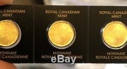2020 Monnaie Royale Canadienne Mrc 1 G Un Gramme D'or Pur 9999 Maple Leaf Coin Invest