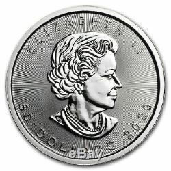 2020 Mrc 1 Oz De Platine Au Canada Feuille D'érable 50 $ Coin Ongecirculeerd Bu Brillant