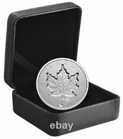 2021 Canada Super Incuse Maple Leaf 1 Oz Argent 20 $ Pièce Avec Coa & Ogp Jl24
