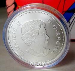 75e Monnaie Royale Canadienne Anni 1 Oz 20 $ Superman Pièce En Argent Fin S-bouclier 2013