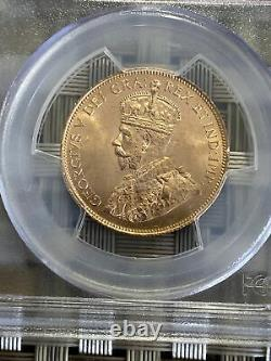 Canada 1913 $10 Gold Coin Ms64 Pcgs Réserve D'or