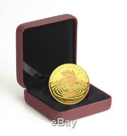 Canada 200 $ Maple ICI À 2015 Feuille Reflection 1 Oz Pure Gold Coin Monnaie Royale Canadienne