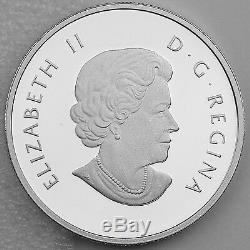 Canada 2013 10 $ Dreamcatcher 99,99% Argent Pur Hologram Proof Couleur Monnaie