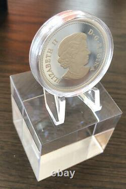 Canada 2013 15 $ Maple Of Peace Hologram, 1 Oz. Pure Silver Proof, N°5 De La Série
