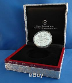 Canada 2014 15 $ Année Du Cheval 1 Oz 99,99% Pure Proof Silver Coin