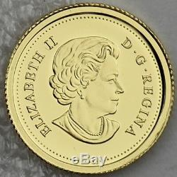 Canada 2014 Canadas Beaver Classic Design Pièce De 50 Cents En Or Pur