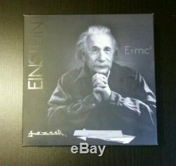 Canada 2015 Argent 10 Oz Albert Einstein Monnaie Royale Monnaie Limitée 1500 Mintage