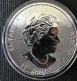 Canada 2017 50 $ Arbre De Vie Brillant Non Circulé 10 Oz 999 Pièces D'argent