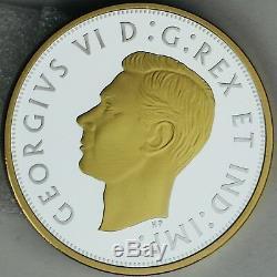 Canada 2018 Exclusif Club Des Maîtres 2 Troy Onces. 9999 Argent Pur 1943 Demi-dollar