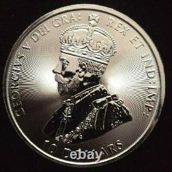 Canada 2020 Grc 1 X 2 Oz 9999 Argent 10 Dollar Mountie Coin 2x Largeur Des Feuilles D'érable