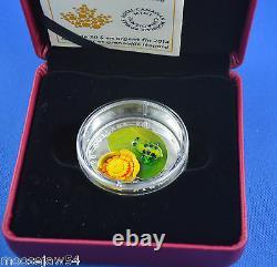 Cinq $ 20.00 Pièces En Verre Vénitien De La Monnaie Royale Canadienne