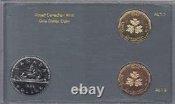 Ensemble 1985 Monnaie Royale Canadienne Un Dollar Test