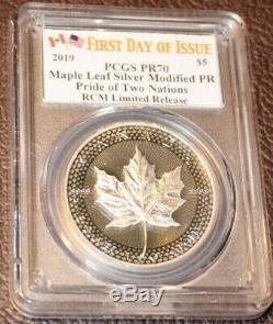 Fierté 2019 De Deux Nations Pcgs Pr 70 Set Monnaie Royale Canadienne