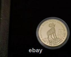 Goldmünze 100 Kanada Doller La Monnaie Royale Canadienne 16,7 Gramm Polierte Platte