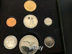 La Monnaie Royale Canadienne 1867-1967 Du Centenaire D'or Set Coin