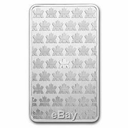 La Monnaie Royale Canadienne 999 10 Oz Beaux Silver Bar