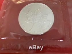 Lot De 10 Argent Feuille D'érable Canadienne 1 Oz Bullion Coins. 9999 Pure Silver, Rcm
