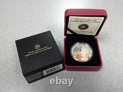 Monnaie Royale Canadienne 2013 20 $ Pièce D'argent Fin Canadian Maple Canopy Automne