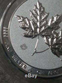 Nouvelles 2020 Maples Canada Twin 2 Navires Oz D'argent Bu Gratuit Capsule