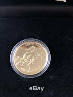 Or 18 Carats Coin Année Du Serpent 2500 Mintage (2013)