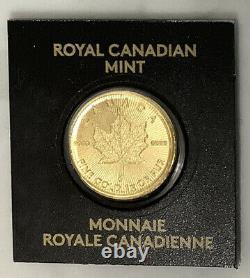 Or 2020 1 Gramme Maplegram 50 Cent Coin 9999 Gold Bullion - Monnaie Royale Canadienne