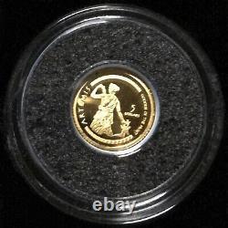 Or Pur Monnaie Royale Canadienne 2012 Le Plus Petit D'or 12 Pièces Set