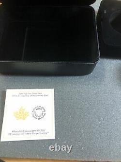 Pièce D'argent De La Coupe Stanley Monnaie Royale Canadienne Canada 3 Oz Pur