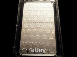 Rcm Canada A Scellé 10 Oz 9999 Pure Barre De Lingots D'argent Lingot Monnaie Royale Canadienne