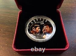 Star Trek Mirror Miroir 20,9999 $ 1 Oz. Pièce D'argent De La Monnaie Royale Canadienne