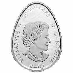 Traditionnelle Pysanka 2020 20 $ 1 Once Pièce En Argent Fin Monnaie Royale Canadienne