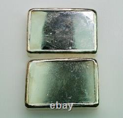 Vintage Royal Canadian Mint 10 Oz X 2= 20 Troy Oz. 999 Lingots D'argent Séquentiels